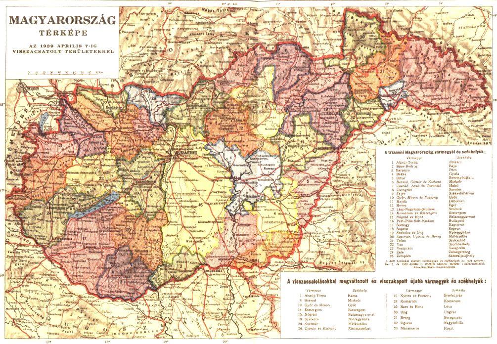 magyarország térkép 1920 Lexikon magyarország térkép 1920